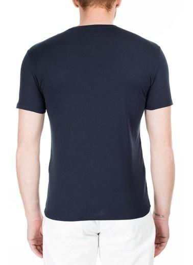 Armani Exchange  Slim Fit T Shirt Erkek T Shırt 3Hztac Zja5Z 1510 Lacivert